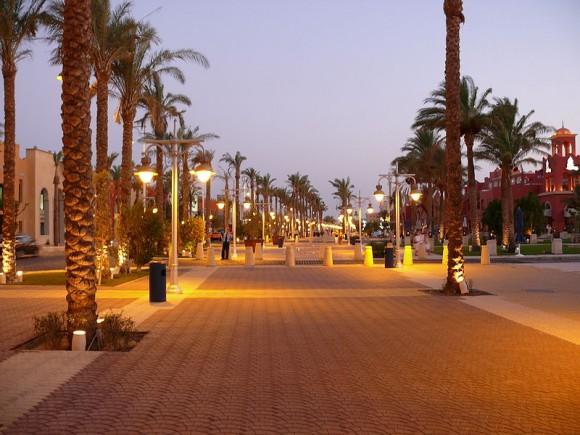 Alig walkway, Hurghada, Egypt
