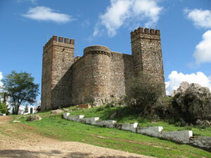 Cortegana Castle in Andaluc