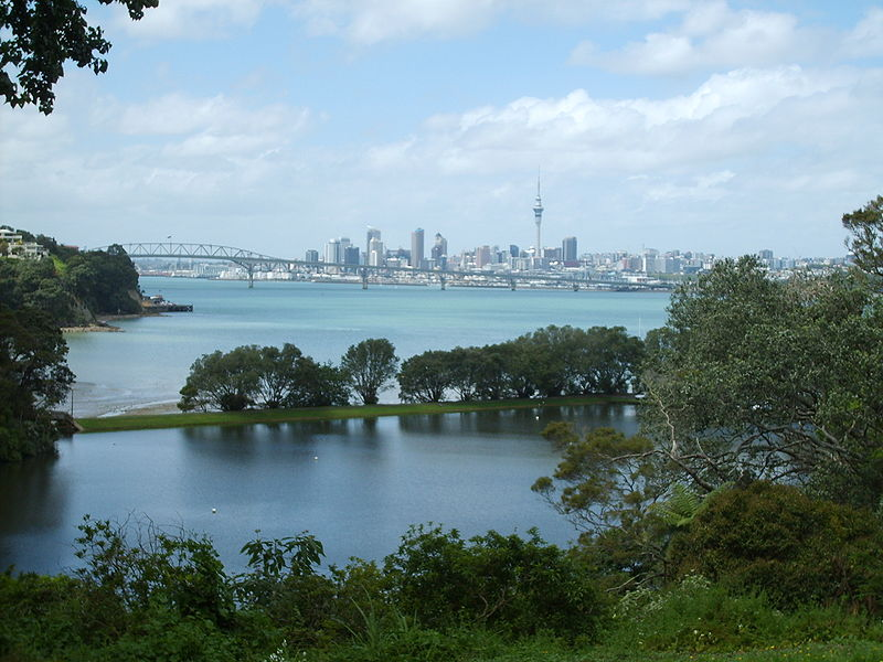 Places in New Zealand - Auckland