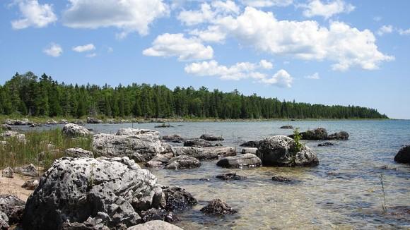 Lake Huron from Michigan