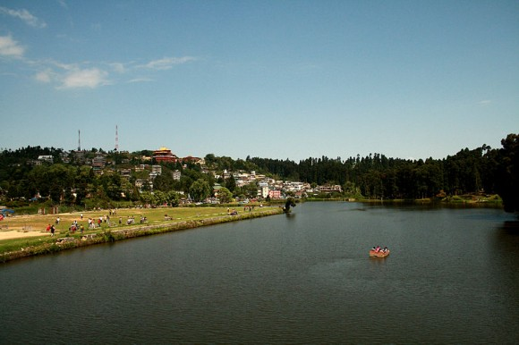Mirik Lake, Darjeeling, India