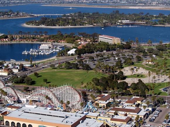 Belmont Park, Mission Bay, San Diego