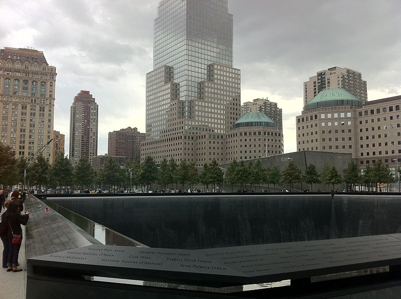 North Tower Fountain, September 11 Memorial, New York City