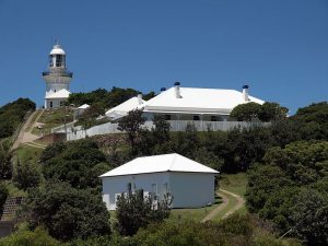 Smoky Cape Lighthouse in Australia