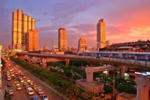 Bangkok Silom District