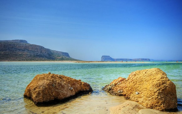 Bay of Balos. Crete, Greek Islands