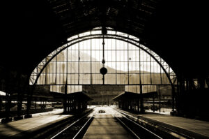Bergen Railway Station by Kamil Porembiński on Flickr