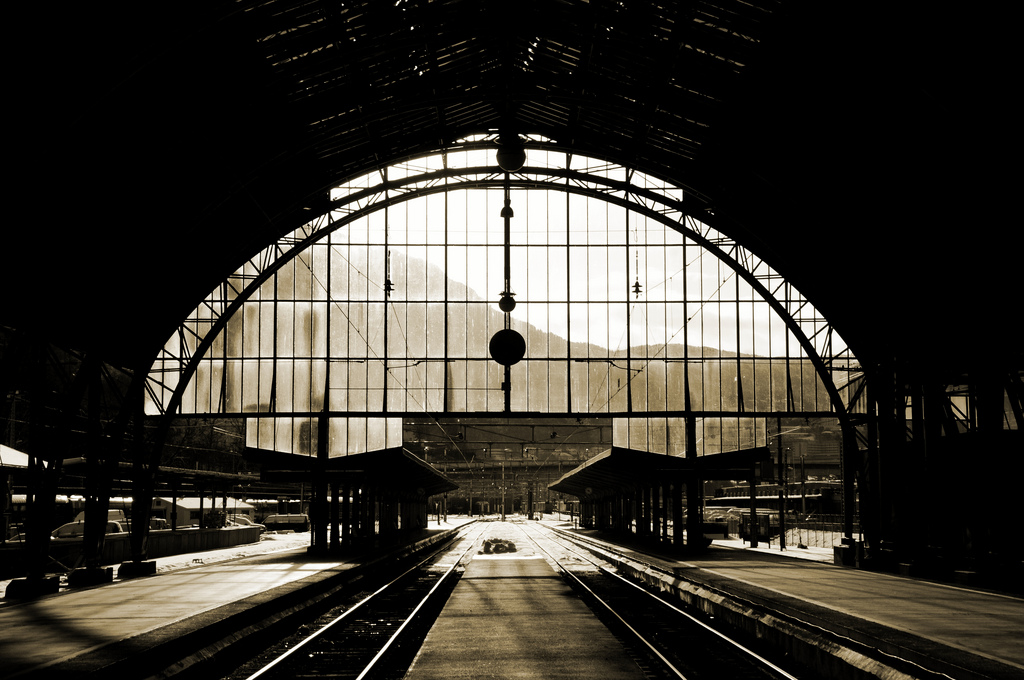 Bergen Railway Station by Kamil Porembiński on Flickr