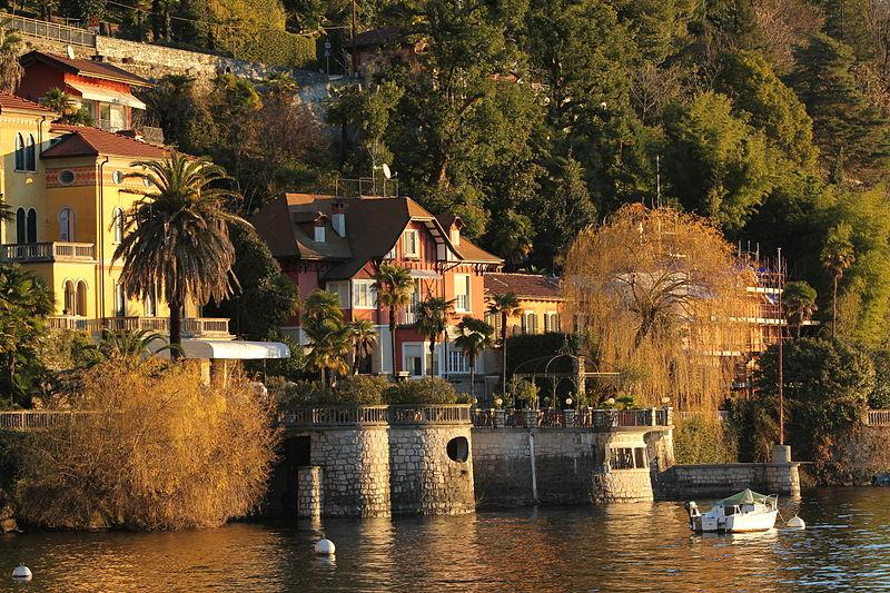 Italian Riviera Lake Maggiore, Italy