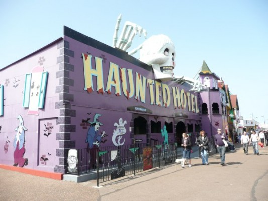 Haunted Hotel at Great Yarmouth Pleasure Beach