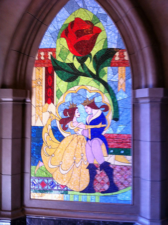 Beauty and the Beast Mosaic