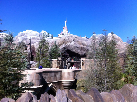 Beast's Castle, Fantasyland, Walt Disney World