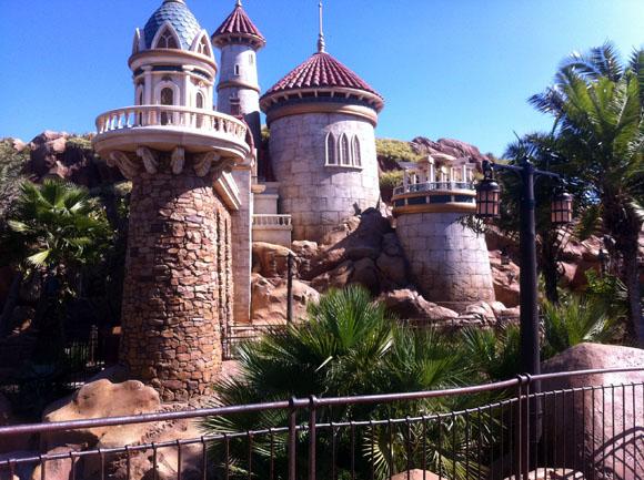 Little Mermaid Ride Castle