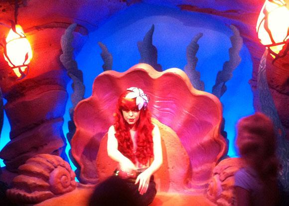 Ariel the Little Mermaid Meet and Greet