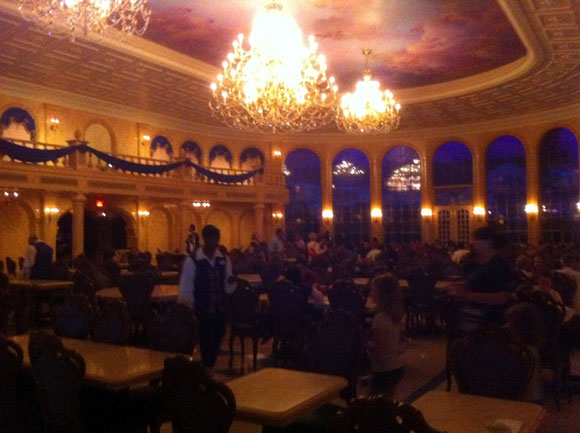 The Ballroom Dining Area at Be Our Guest Restaurant