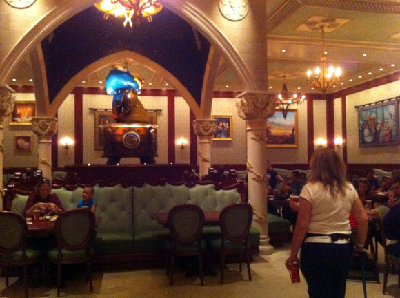 Rose Gallery Dining Area at Be Our Guest Restaurant