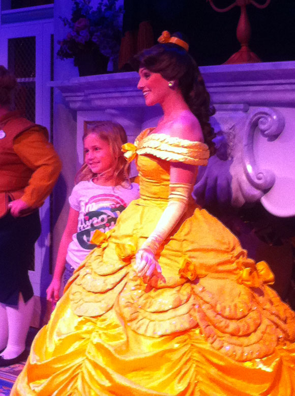 Meet and Greet with Belle at Maurice's Castle