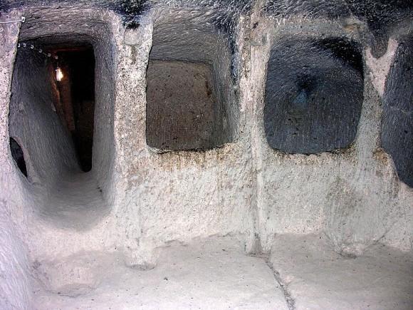 Kaymakli Underground City, Turkey
