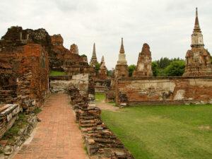 Ruins of Ayutthaya. By NorbertNagel (Creative Commons)