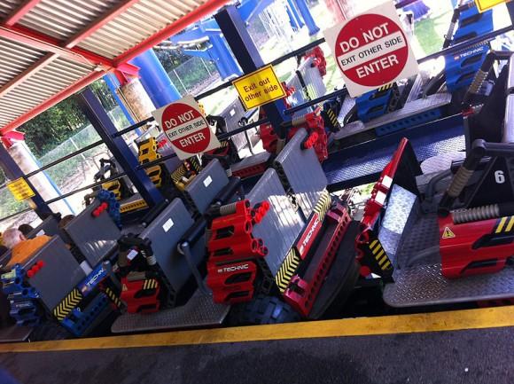 Technic Coaster at Legoland