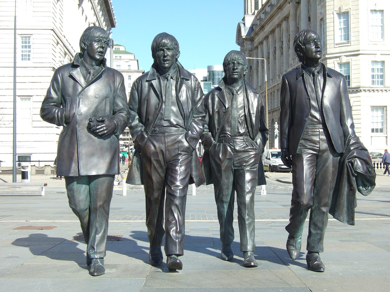 Statue of The Beatles