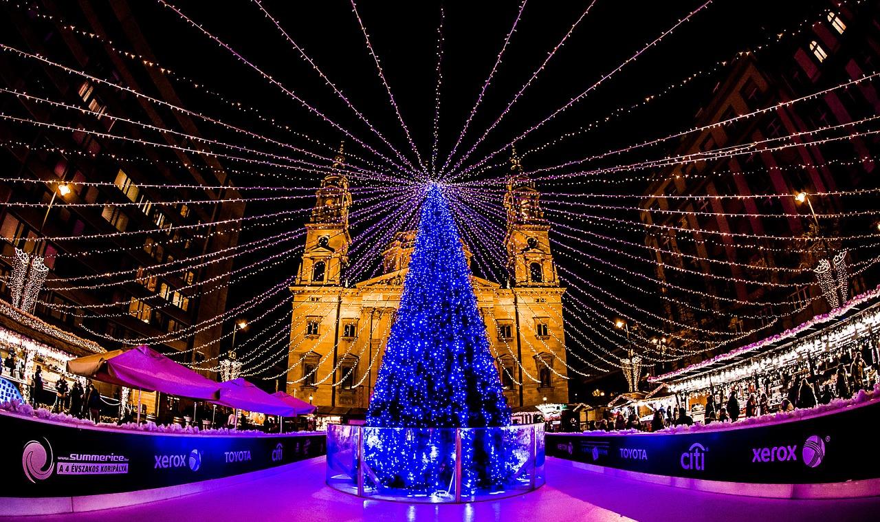 Christmas, Budapest, Hungary