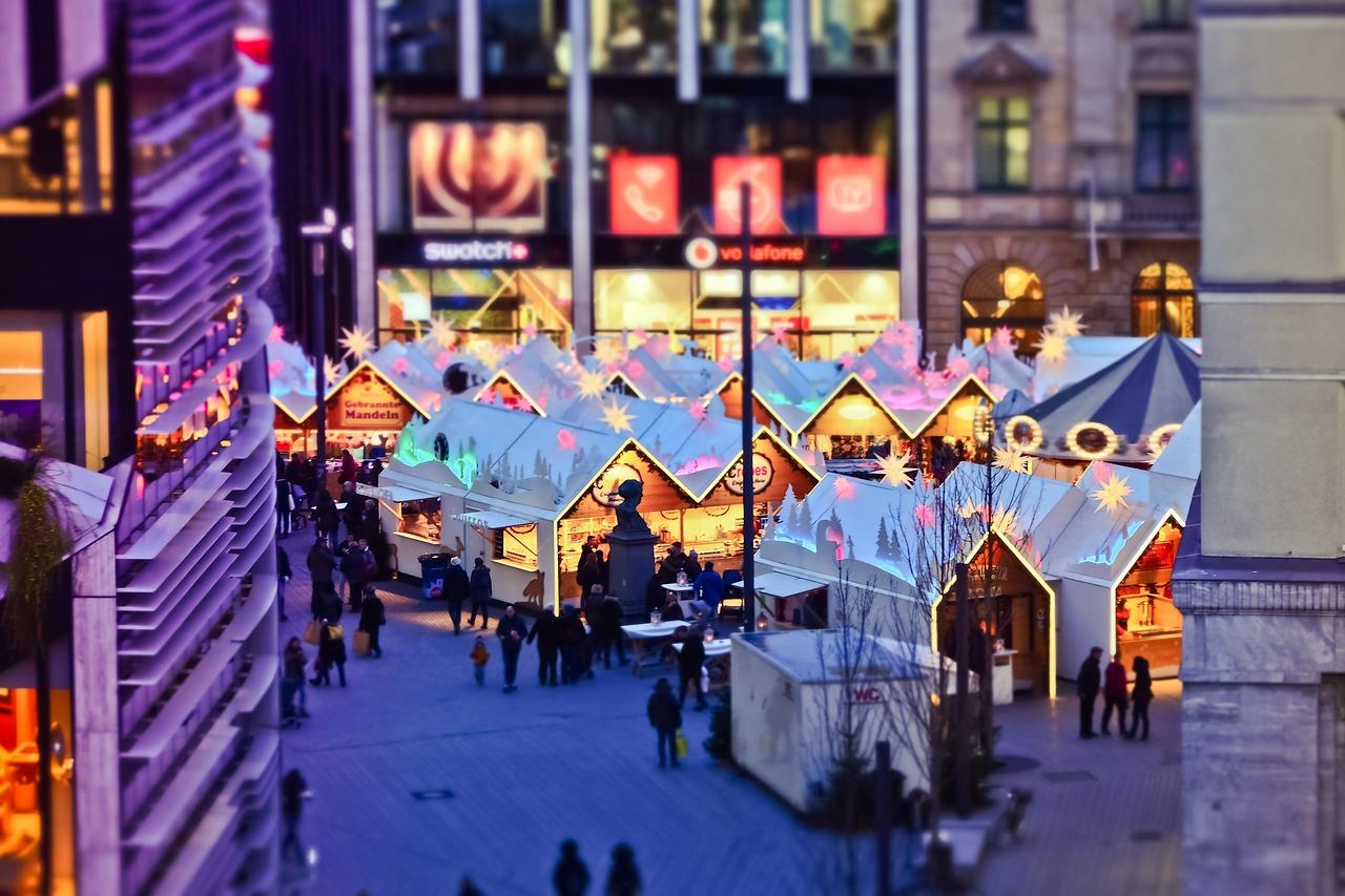 Christmas, Dusseldorf, Germany