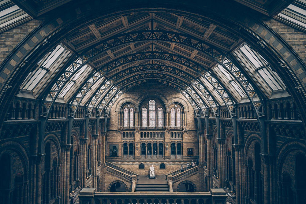 empty cathedral London