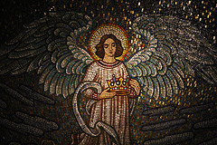 A Beautiful Mosaic in St. Francis Cathedral