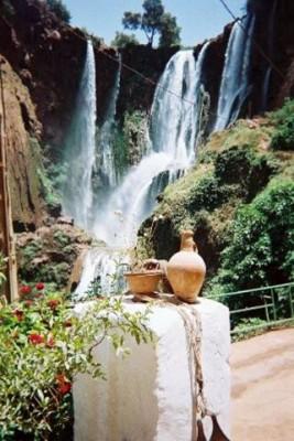 The Cascades d'Ouzoud Waterfalls