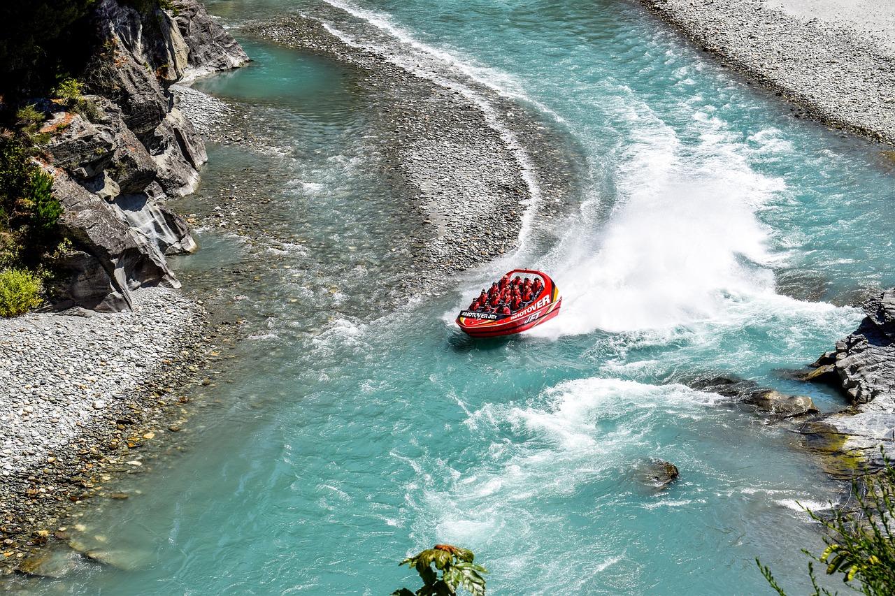 Rafting in Queensland, New Zealand