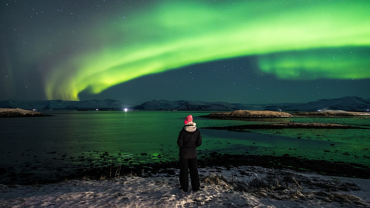 viewing the northern lights