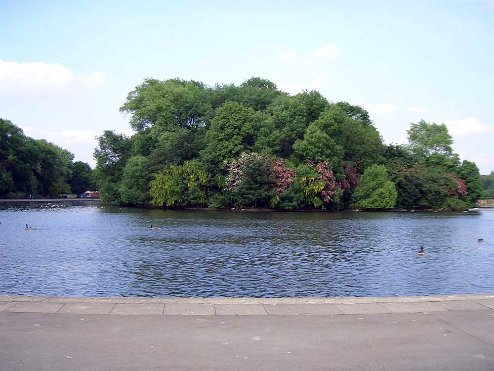 Platt Fields Park in Rosholme, mentioned in the title of a song