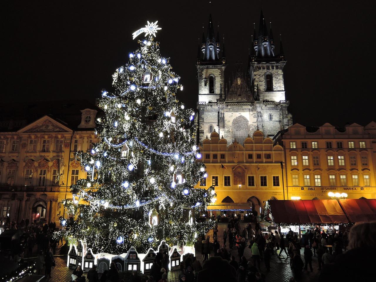 Christmas, Prague, Czech Republic