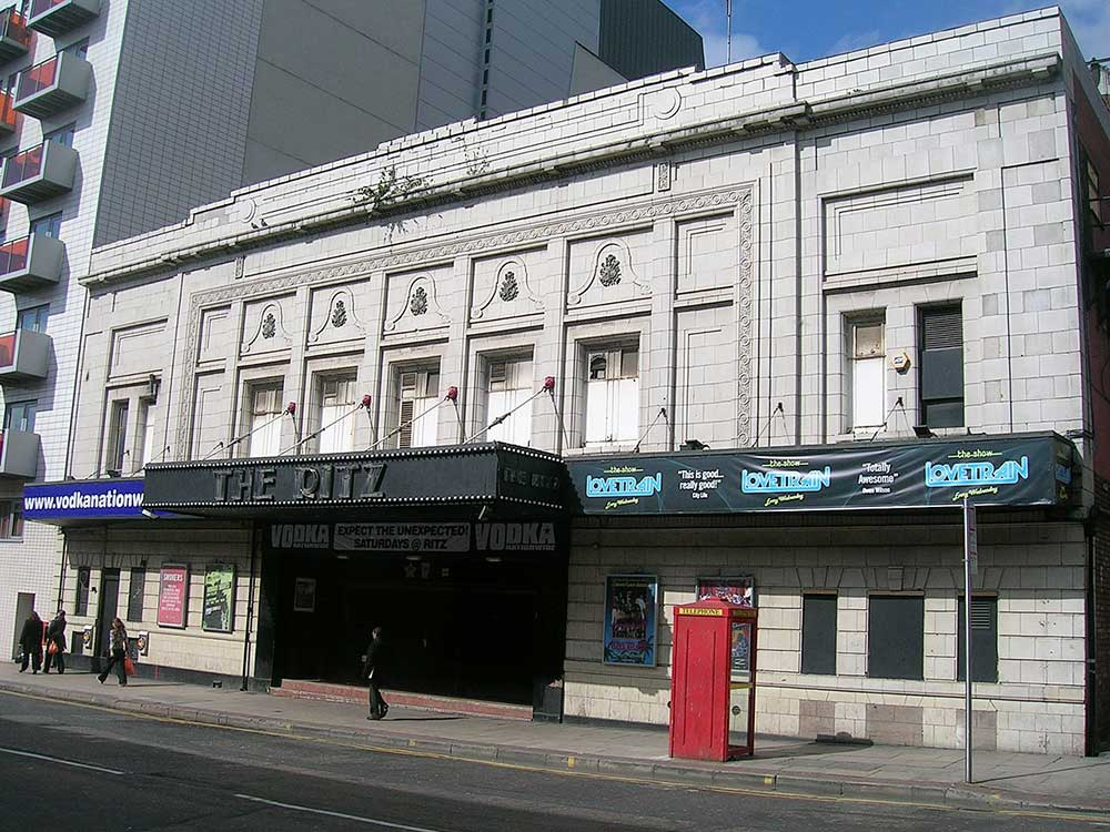 The Ritz Nightclub in Manchester is where The Smiths played their first concert.