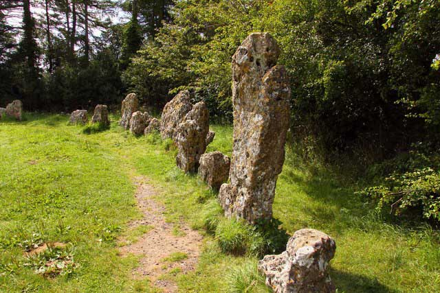 rollright stones in England