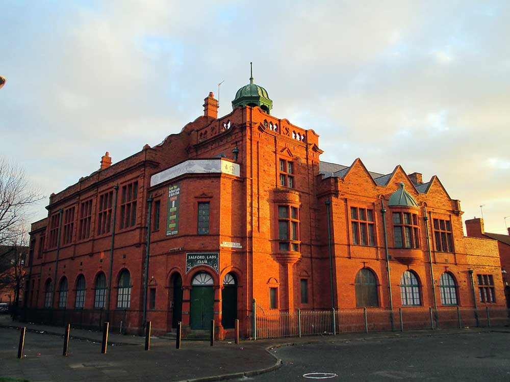 Salford Lads Club, which houses a collection of memorabilia of The Smiths