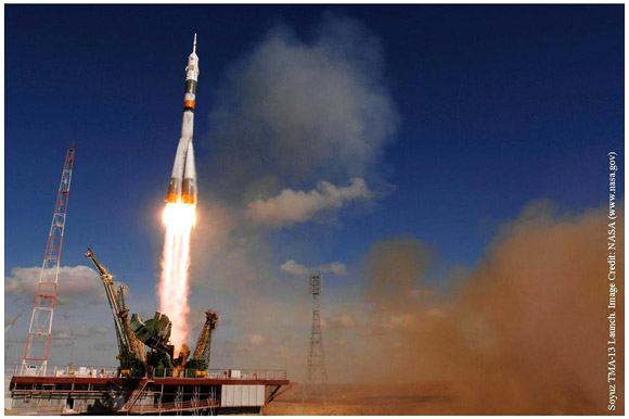 Space Adventures Travels Aboard the Soyuz