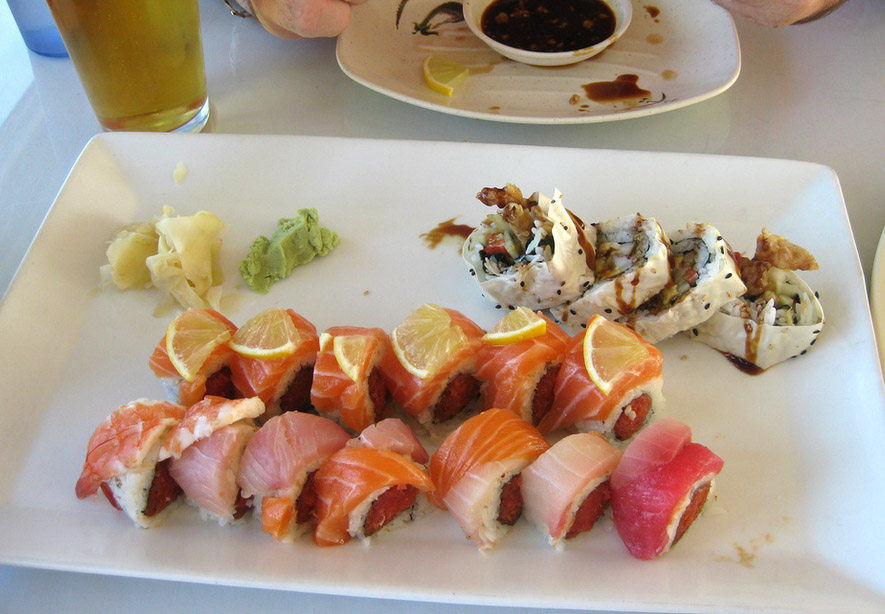 Mizu Sushi, Mission Beach
