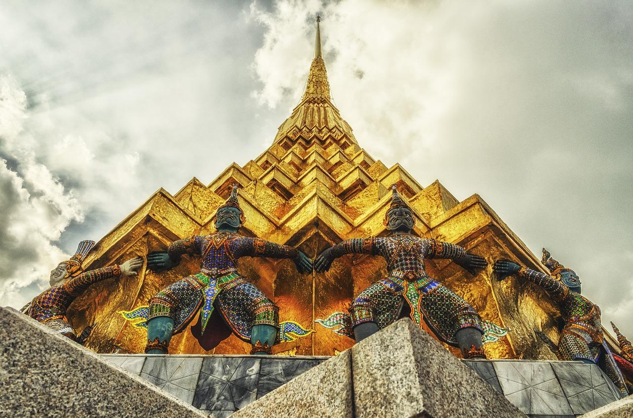 Buddhist template Thailand