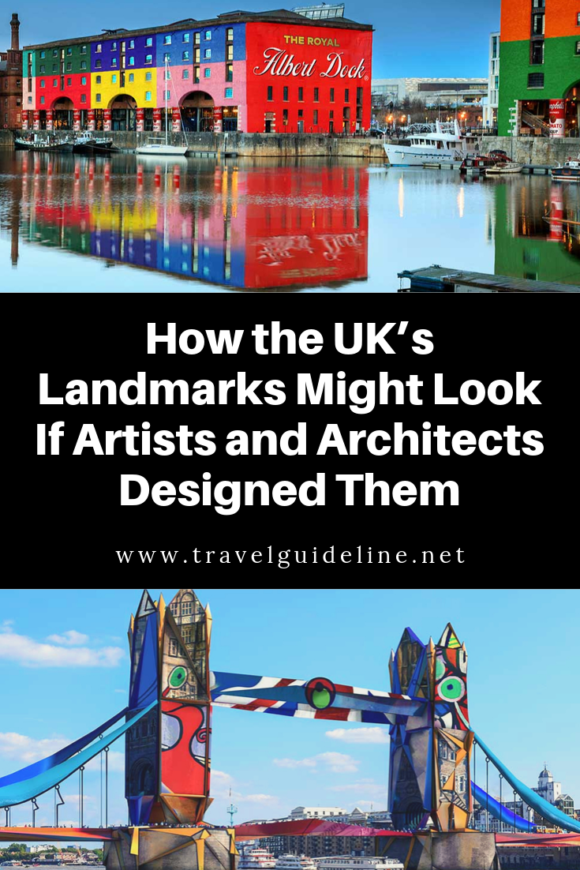 What if Picasso designed London's Tower Bridge? What if Frank Lloyd Wright, one of the American great architects, turned his eye to one of the UK's most stunning cathedrals?